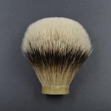 26mm/67 feinsten silberdachshaar Männer bart pinsel kopf rasierpinsel knoten für 26mm griff