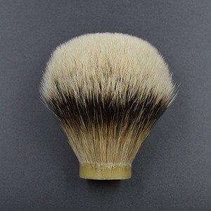 Image 1 - 26mm/67 finest silvertip Badger hair Men  beard brush head shaving brush knot for 26mm handle