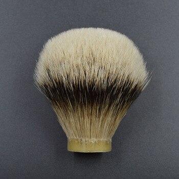 26mm/67 mejor brocha de tejón pelo de la barba de los hombres cabeza de cepillo brocha de afeitar nudo para 26mm mango