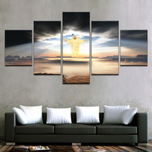 Artryst Pictures Home Decor Living Room 5 Panel Jesus Is Coming HD Printed Modern Canvas Painting Wall Art Modular Posters