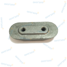 OVERSEE 4-6-8-9.9-15 HP Outboard Anode Plate Small Zinc 6E0-45251-12 for Yamaha Outboard Engine