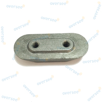 OVERSEE 4 6 8 9 9 15 HP Outboard Anode Plate Small Zinc 6E0 45251 12