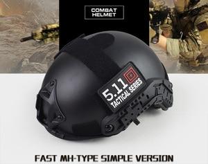Image 2 - Capa tática militar de qualidade para capacete airsoft, cobertura rápida para capacete de paintball, acessórios esportivos, proteção para saltos rápidos