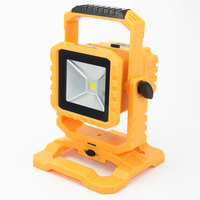 6pcs Lot IP65 LED Flood Light 10W Led Outdoor Flood Light Rechargeable With Detachable Battery And