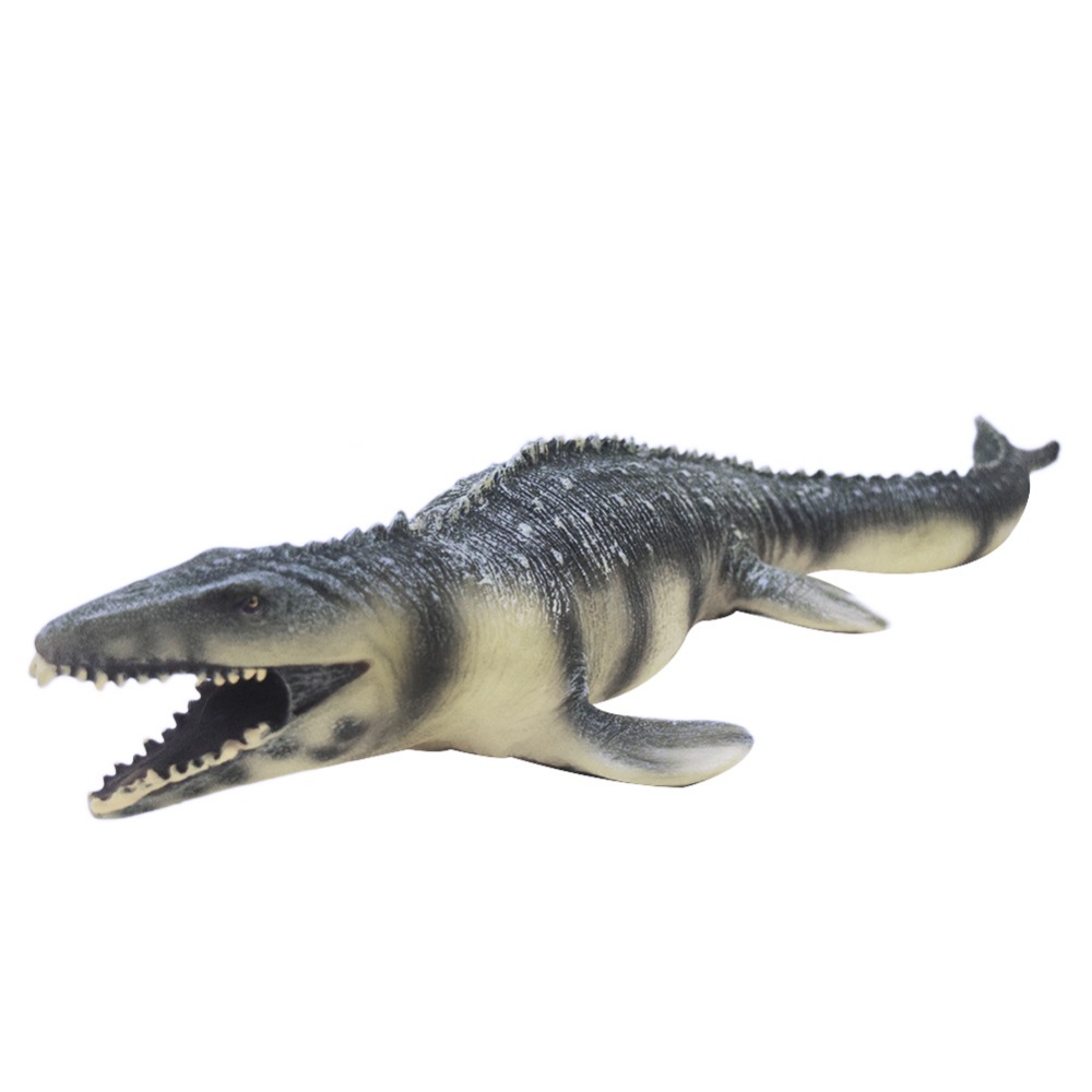 Simulation PVC Soft Dinosaur Toys Mosasaur Model Toy of Exquisite Workmanship for Home Decoration Toys for Children Gift simulation eagle pvc animals model furniture owl figurine birds home decoration accessories decor plastic toy gift for kids