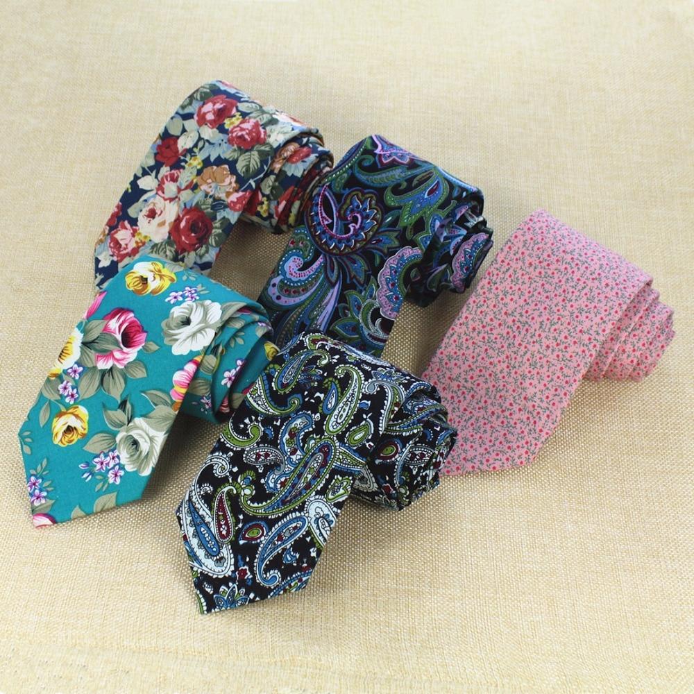 Ricnais New Fashion 8cm Mens Tie Cotton Necktie For Men Causal Paisley Ties For Man Bussines Corbatas Bridegroom Party Neckties