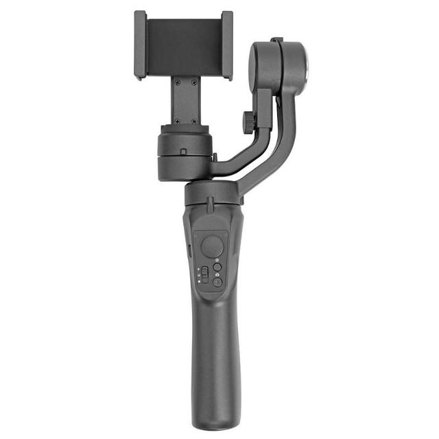 Estabilizador de cardán Bluetooth de mano H4 de 3 ejes con Clip para iPhone XS XR X 8Plus 8 7P 7 Samsung y Cámara de Acción