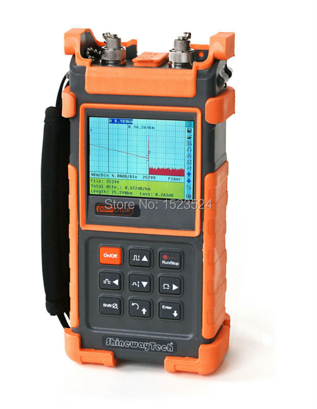 ShinewayTech S20B/E 35/34dB SM 1310/1550nm Optical Time Domain Reflectometer Fiber Optic OTDR