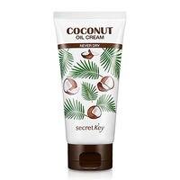 SECRET KEY Coconut Oil Cream Never Dry 150g Korean Cosmetic Dry Skin Moisturizer