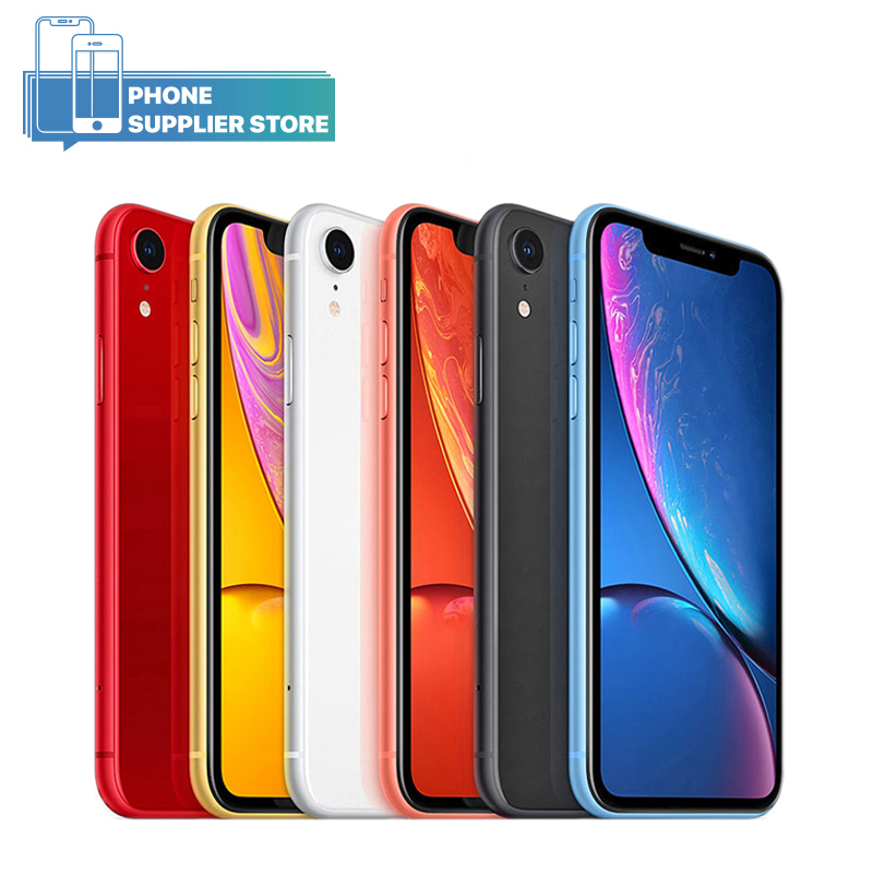 Apple iPhone XR Unlocked 4G LTE Smartphone 6.1 inch Apple A12 Hexa-core 12MP Camera Face ID Bluetooth WiFi 64/128/256GB PhonesApple iPhone XR Unlocked 4G LTE Smartphone 6.1 inch Apple A12 Hexa-core 12MP Camera Face ID Bluetooth WiFi 64/128/256GB Phones