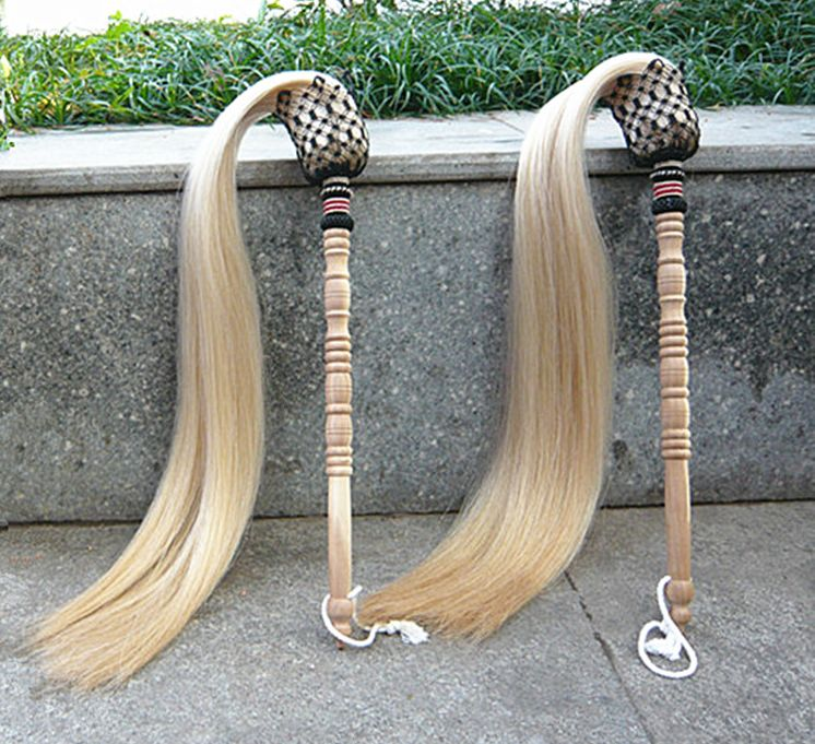 Real Horsetail Whisk Daoist Martial Arts Fu Chen 1