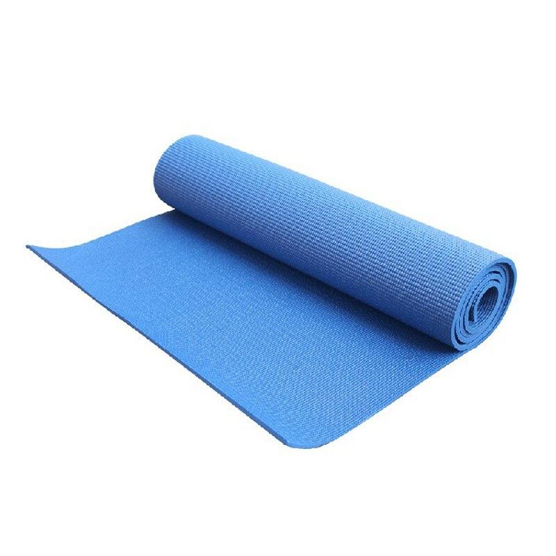 6mm Non-slip Yoga Mats Massage Relaxation Gym Exercise Mats Tasteless PVC Material Fitness Pilates Colchonete
