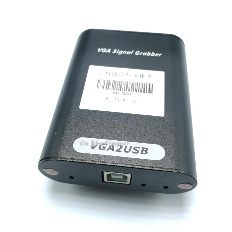 VGA2USB external VGA video acquisition card USB collection