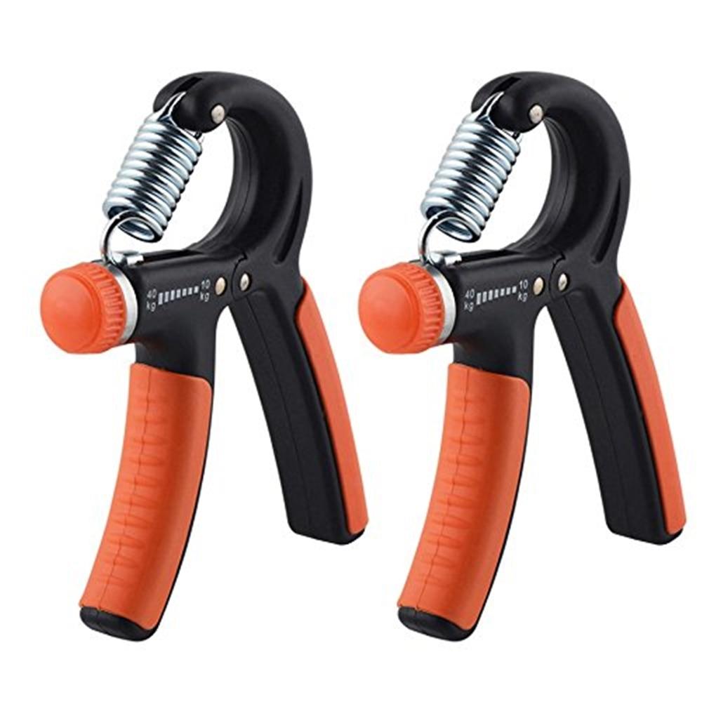 Pince lourde réglable poignée d'exercice de la main de Fitness FatGrip poignet augmentation de la force pince de doigt de ressort extenseur carpien