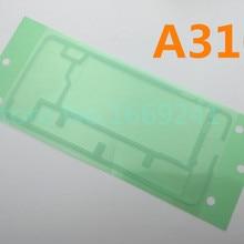 2 шт./лот сзади Корпус двери Стикеры клей для Samsung Galaxy A3 A310 A310F задняя клейкая Обложка лента