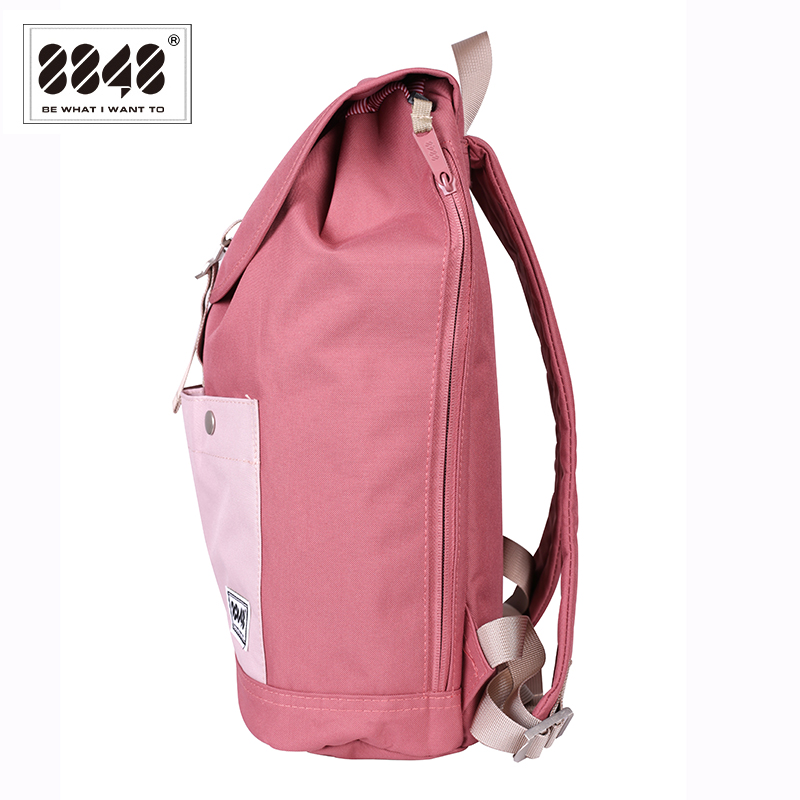 8848 Brand Backpack Women Backpack Travel Backpack Waterproof Oxford Soft  Back Large Capacity Bag Pink Style Laptop 132 028 008-in Backpacks from  Luggage ... fb5d99b27b880