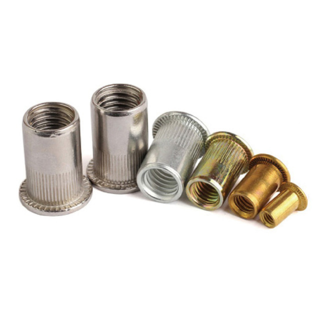 US $9 99 |rivet nut rivnut M3 M4 M5 M6 M8 M10 M12 zinc plated stainless  steel aluminum brass-in Screws from Home Improvement on Aliexpress com |