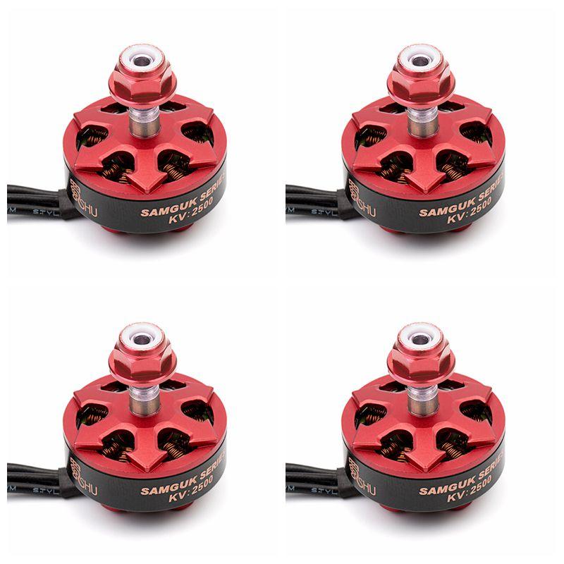 DYS Samguk Series Shu 2306 2500KV 2800KV 3-6S Brushless Motor for RC Models Multicopter Spare Part Accs цены