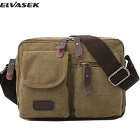 Elvasek New Arrival Fashion Men S Messenger Bags Handbags For Businessmen Single Shoulder Bags Clutch Casual
