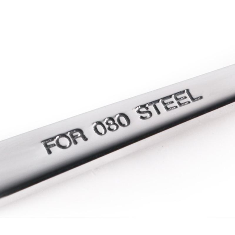 widelec i łyżka w stylu klucza płaskiego
