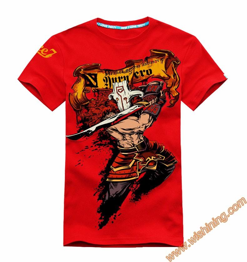 DOTA 2 Juggernaut t-shirt Tee8301 (1)