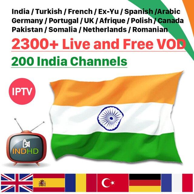 IPTV Africa Italian IPTV Subscription for Android Germany France Arabic Turkey IPTV Free test Indian UK IP TV Italy India EX YU