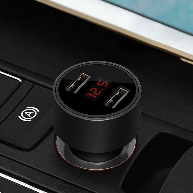 Verantwortlich Auto Styling Led-anzeige Dual Usb Auto Autos Ladegerät Für Toyota Allion Altezza Auris 1 2 Avalon 2 Aygo 1 2 Belta Klinge Celsior 3 Sparen Sie 50-70%