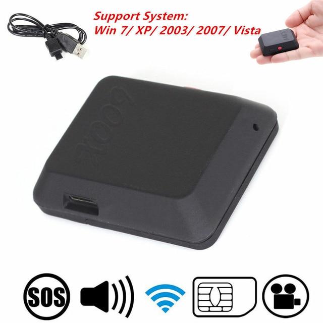 Mini Camera GPS Locator Tracker GSM Dial Listen Sound Audio Video Record SOS Micro Cam for Vehicle Car Pet Kid Children