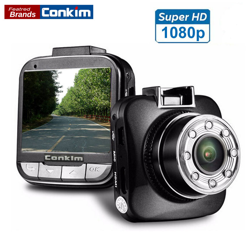 Conkim Car DVR Camera G55 Novatek 96650 1080P Full HD Video Recorder With Super IR Night Vision 2.0