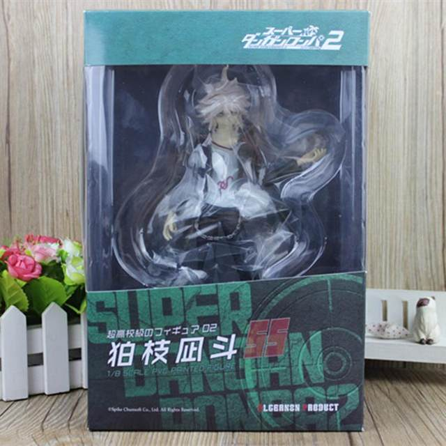 Anime Super Danganronpa 2 Komaeda Nagito 1 7 Scale Painted PVC Figure Dangan Ronpa Collectible Model Toy 21cm