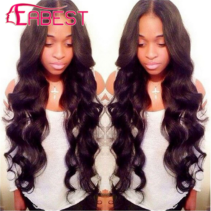 Hair Weaving: Malaysian Virgin Hair Body Wave 4 Bundle Deals Hair Bundle Malaysian Body Wave Human Hair Extensions Malaysian Virgin Hair Weave