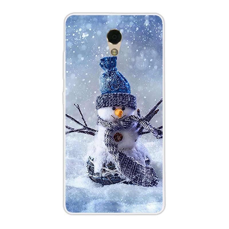Для lenovo p2 чехол силиконовый для lenovo Vibe p2 телефон Рождество сезон дизайн задняя крышка для lenovo P 2 Прозрачный шелк ТПУ Капа
