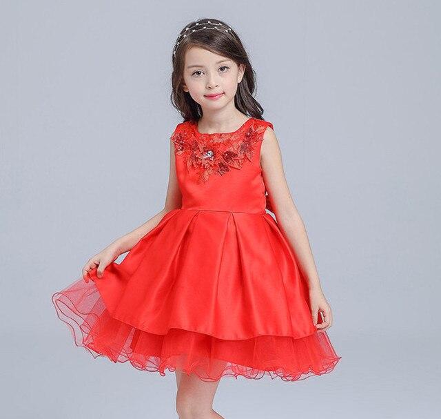 7eeb2ed9c Vestido de niña roja con abrigo para fiesta de Navidad para fiesta de niña  para 3
