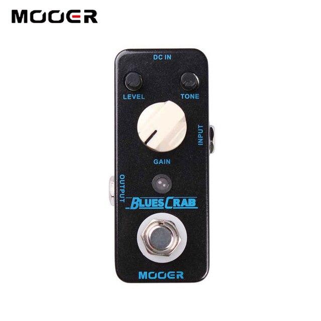 MOOER Blues Crab Classic Blues Overdrive Sound Guitar Effectors