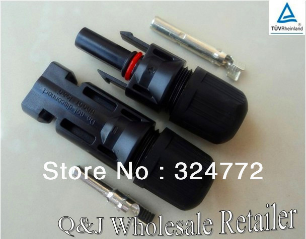 50 Pairs of MC4 Male/Female Solar Panel cable Connectors manufacturer in China,free shipping