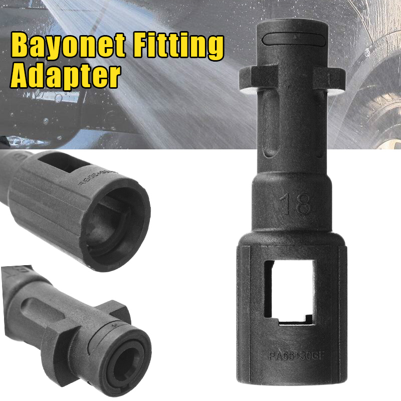 Bayonet Fitting Adapter Conversion Durable Washer Adapter For K-Series Lavor Nilfisk Alto Connector