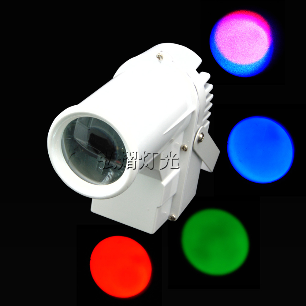 Hongyi Mini DMX512 Stage light RGBW disco beam led pinspot light for DJ party KTV mirror ball pin spot lights spotlight lamps portable led stage light rgbw pinspot beam spotlight dj disco ball stage lamp