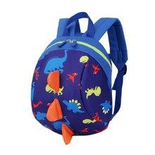 Mochilas niño anti-perdida mochila bolsa de niño lindo del modelo del dinosaurio niños mochilas Niños bolsas de kindergarten mochila escolar