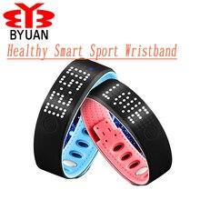 Здоровый Смарт часы Спорт браслет Новые Модные Bluetooth Интеллектуальный USB калорий Дистанционное управление Фото браслет наручные часы