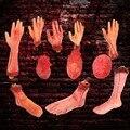 Horror Halloween Requisiten Blutige Hand Haunted Party Dekoration Gefälschte Hand Finger Bein Fuß Herz Halloween Haus Dekoration Liefert