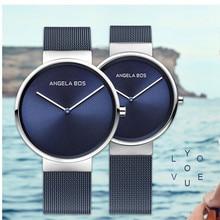Relogio Masculino любителей роскоши пару часов Нержавеющаясталь кварцевые женские часы мужские Relogios Femininos