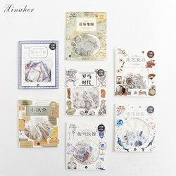 XINAHER 40 sztuk/partia Kawaii wieloryb dekoracji mini naklejki papierowe pakiet DIY pamiętnik dekoracji naklejki album scrapbooking
