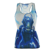 Drop Ship 2016 Girls Tanks & Camis Summer time Soldier Tops Journey Time Horny 3D Vest Tops