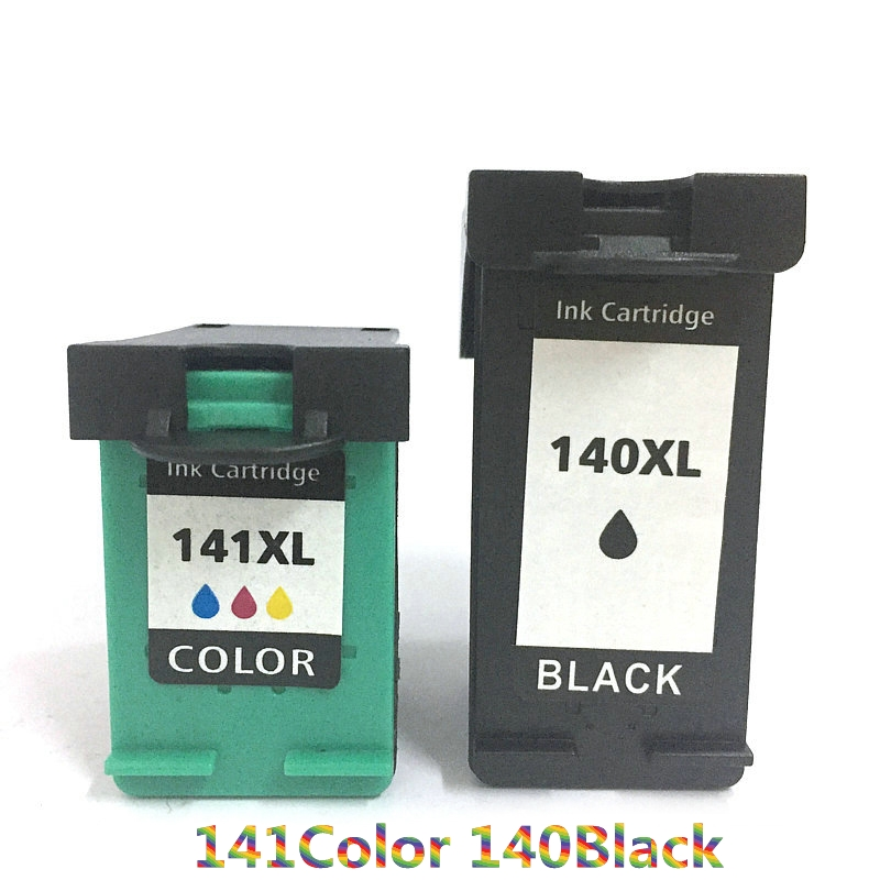 Vilaxh For <font><b>hp</b></font> <font><b>140</b></font> <font><b>141</b></font> compatible ink cartridge for <font><b>hp</b></font> Deskjet J5733 J5783 J6403 J6413 printer image