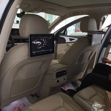 In Car DVD Player Dual Screen Headrest Android Monitor For BMW X6 2013 Rear Seat Entertainment System Auto TV Screen 11.8 inch car headrest video player android tv in the car dvd monitor for cadillac android rear seat entertainment system 11 8 inch screen
