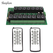 Sleeplion DC 12V 10A relay 15CH Circuit Board Wireless RF Remote Control Switch 2 Transmitter+ Receiver