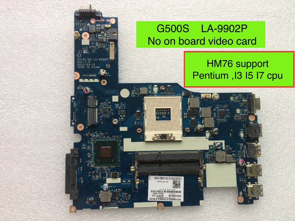 Fully Tested Motherboard For Lenovo G500s VILG1/G2 LA-9902P ( HM76 Support For Pentium I3 I5 I7 cpu ) 100% tested for washing machines board xqsb50 0528 xqsb52 528 xqsb55 0528 0034000808d motherboard on sale