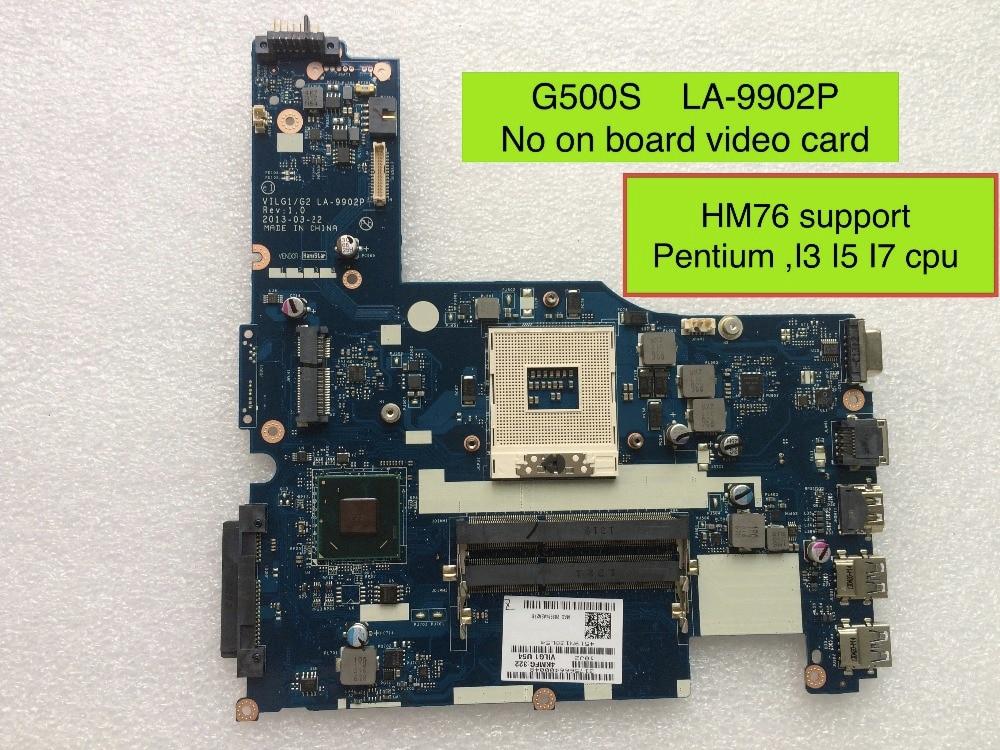все цены на  Fully Tested Motherboard For Lenovo G500s VILG1/G2 LA-9902P ( HM76 Support For Pentium I3 I5 I7 cpu )  онлайн