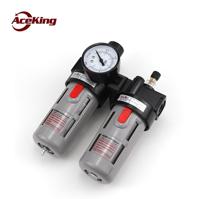 Пневматический редукционный клапан BFC2000, регулирующий клапан для воздушного масла и воды, фильтр сепаратор BFC3000 4000