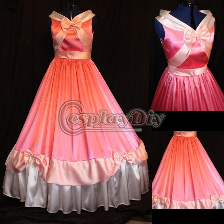 Aliexpress.com : Buy Free Shipping Custom made Cinderella Costume ...